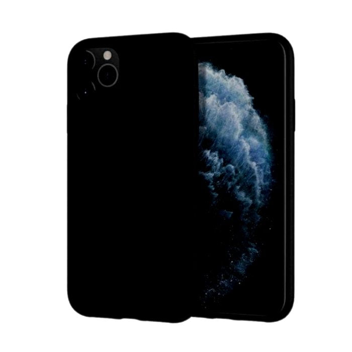 Mercury Silicone Case for iPhone 11 Pro Max - Black