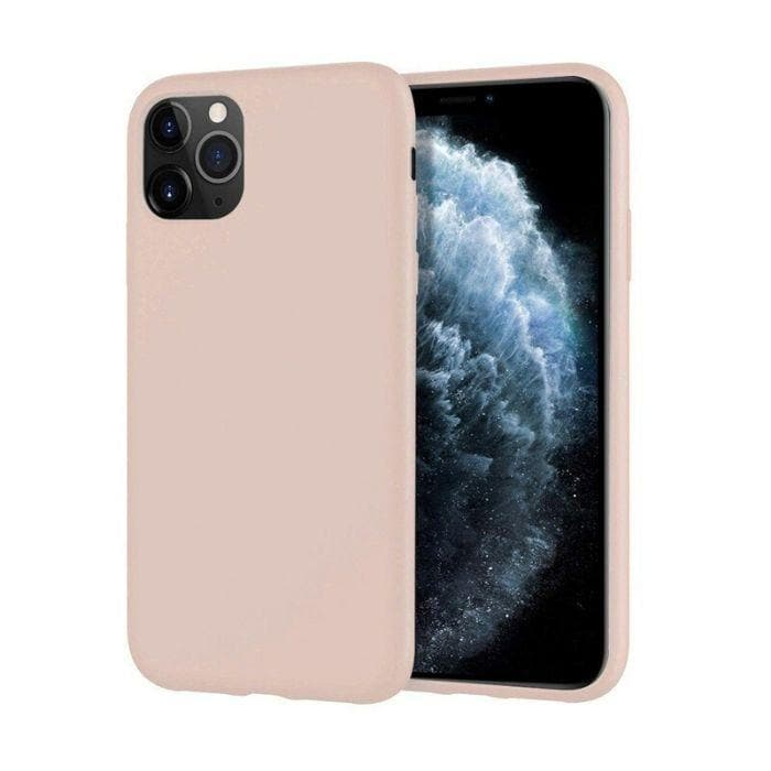 Mercury Silicone Case for iPhone 11 Pro Max - Pink Sand