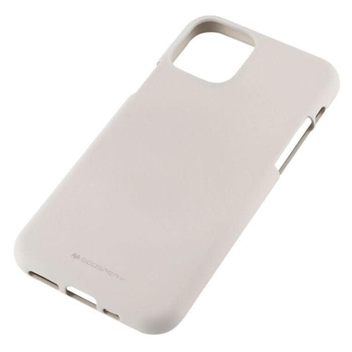Mercury Silicone Case for iPhone 11 Pro Max - Stone back