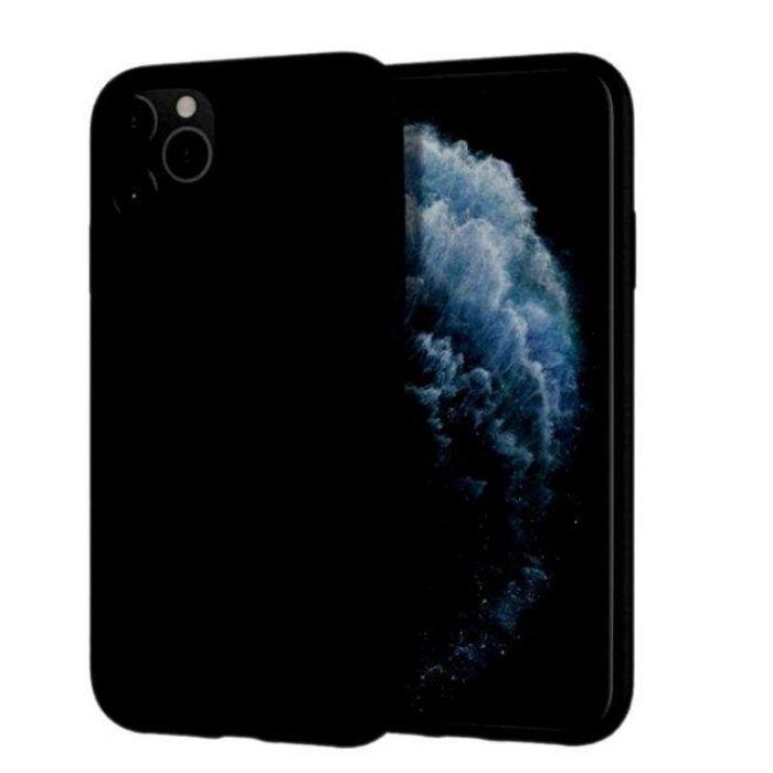 Mercury Silicone Case for iPhone 12 Max / 12 Pro - Black
