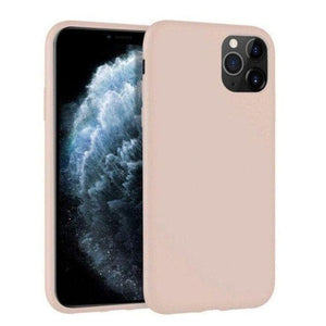 Mercury Silicon Case for iPhone 12 Max / 12 Pro - Pink Sand