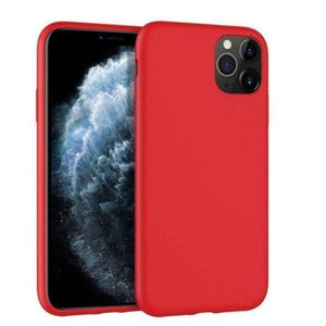 Mercury Silicon Case for iPhone 12 Pro Max - Red Apple