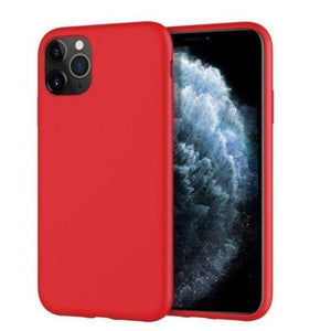 Mercury Silicon Case for iPhone 12 Pro Max - Red