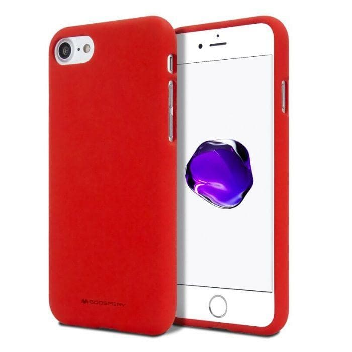 Mercury Silicone Case for iPhone 7/8 - Red