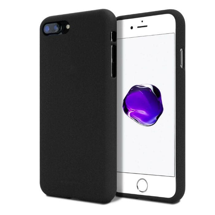 Mercury Silicone Case for iPhone 7/8 Plus - Black