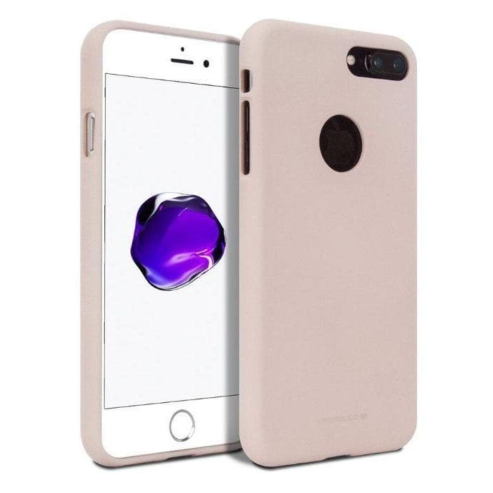 Mercury Silicone Case for iPhone 7/8 Plus - Pink Sand