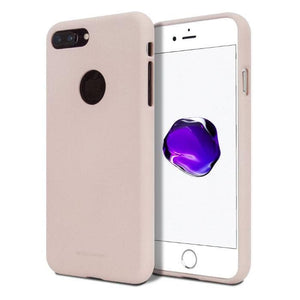 Mercury Silicone Case for iPhone 7/8 Plus - Pink Sand Apple