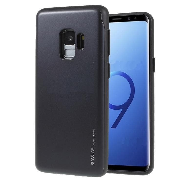 Mercury Sky Slide Bumper Case for Samsung Galaxy S9 - Black