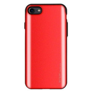 Mercury Sky Slide Bumper Case for iPhone 78SE 2020 - Red