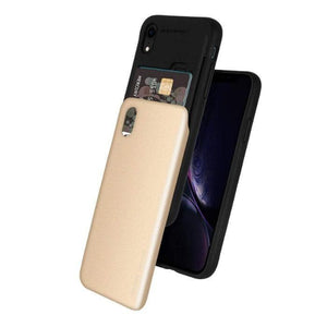 Mercury Sky Slide Bumper Case for iPhone XR - Gold Apple