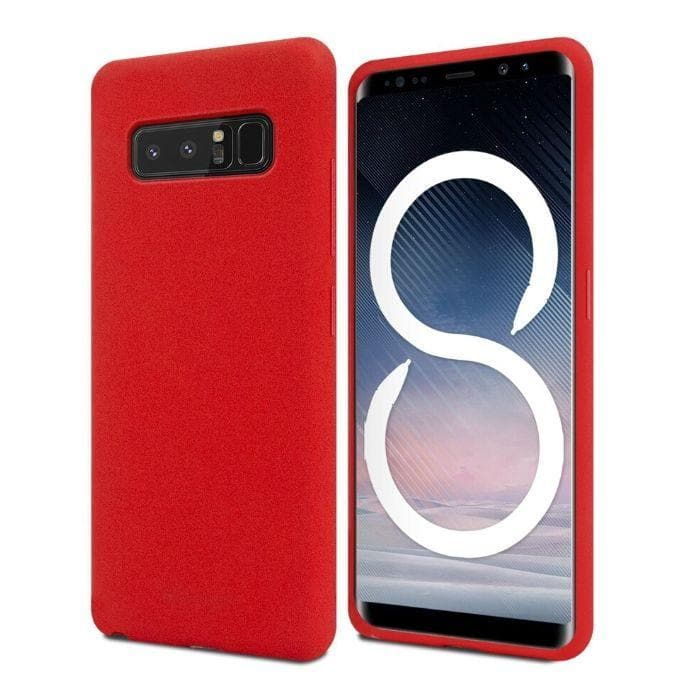 Mercury Soft Feeling Case for Samsung Galaxy Note 8 - Red