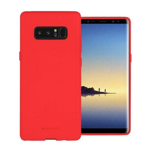 Mercury Soft Feeling Case for Samsung Galaxy Note 8 - Red Android