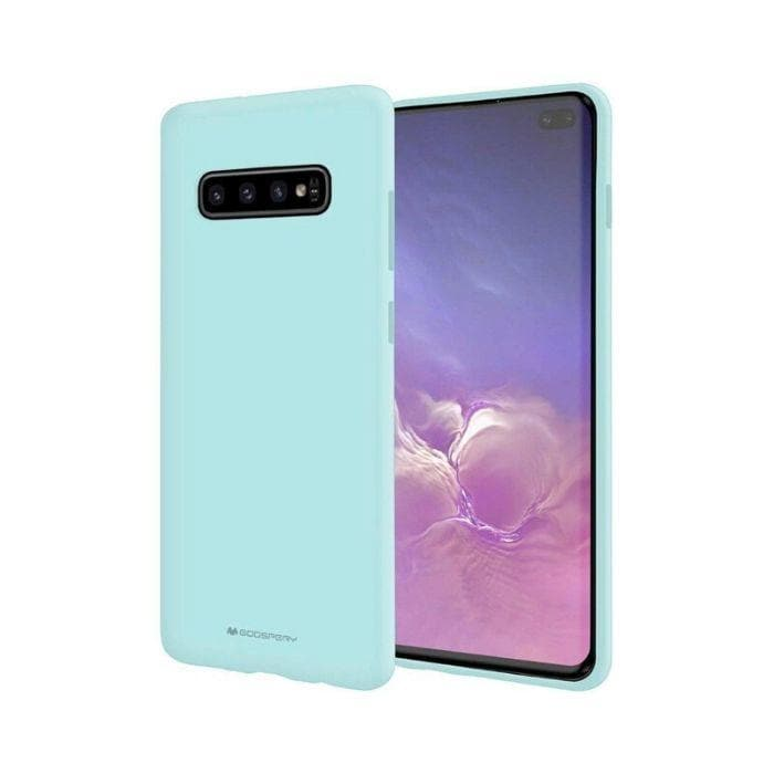 Mercury Soft Feeling Case for Samsung Galaxy S10 - Mint