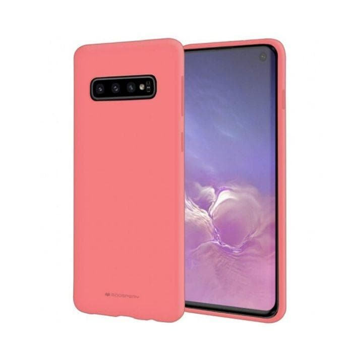Mercury Soft Feeling Case for Samsung Galaxy S10 - Pink