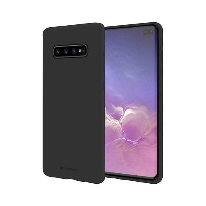 Mercury Soft Feeling Case for Samsung Galaxy S10 Plus - Black