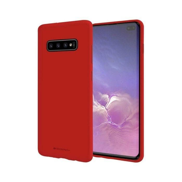 Mercury Soft Feeling Case for Samsung Galaxy S10 Plus - Red