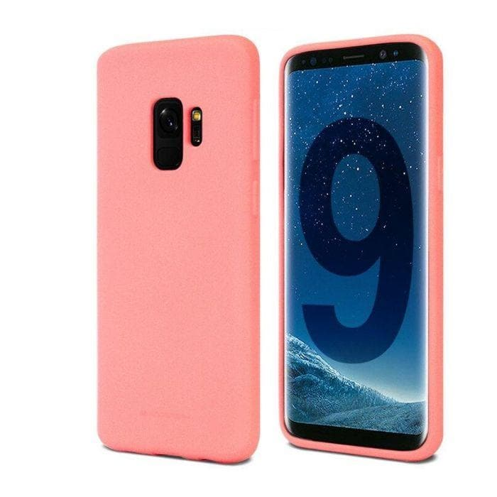 Mercury Soft Feeling Case for Samsung Galaxy S9 - Flamingo