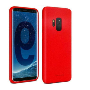 Mercury Soft Feeling Case for Samsung Galaxy S9 - Red Android