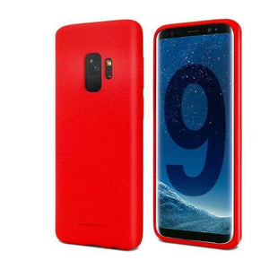 Mercury Soft Feeling Case for Samsung Galaxy S9 - Red