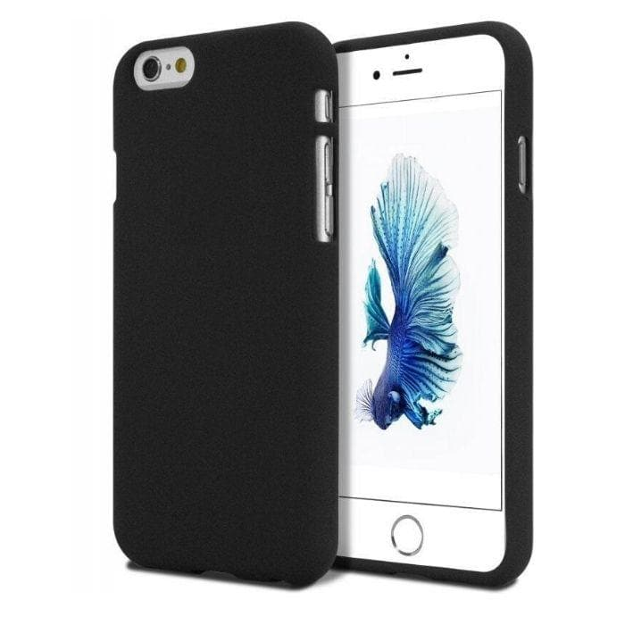 Mercury Soft Feeling Case for iPhone 5/5s/SE - Black