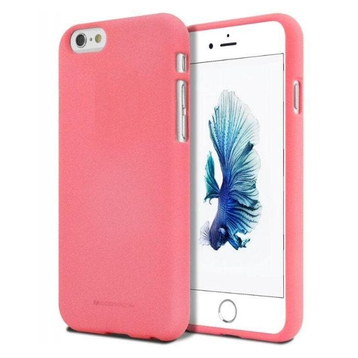 Mercury Soft Feeling Case for iPhone 5/5s/SE - Flamingo