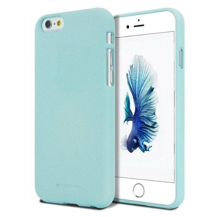 Mercury Soft Feeling Case for iPhone 5/5s/SE - Mint