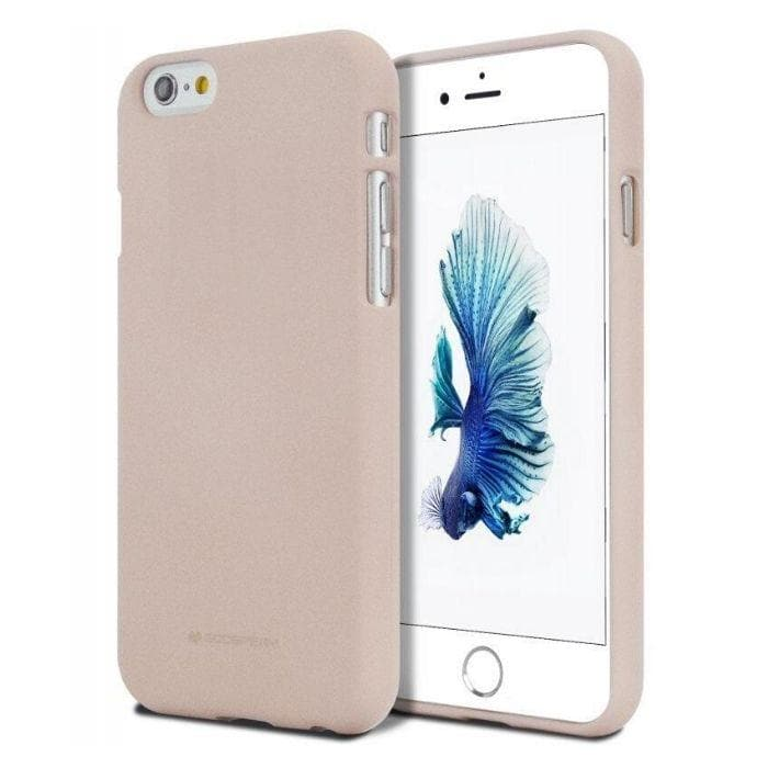 Mercury Soft Feeling Case for iPhone 5/5s/SE - Pink Sand