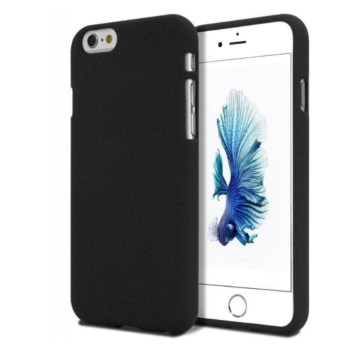 Mercury Soft Feeling Case for iPhone 66s Plus - Black