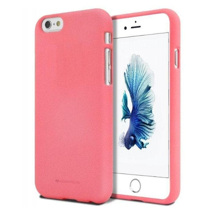 Mercury Soft Feeling Case for iPhone 66s Plus - Flamingo