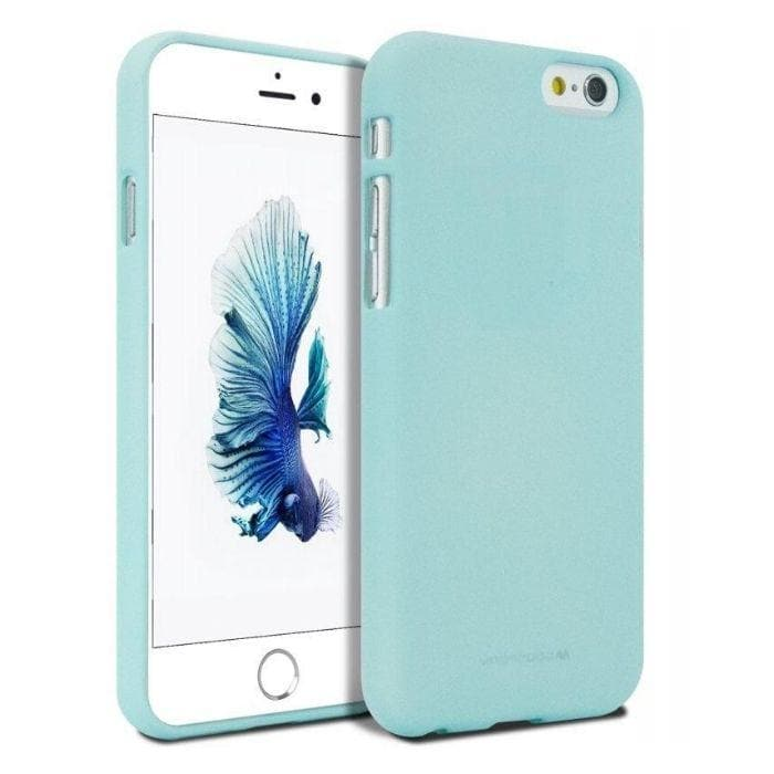 Mercury Soft Feeling Case for iPhone 66s Plus - Mint Apple