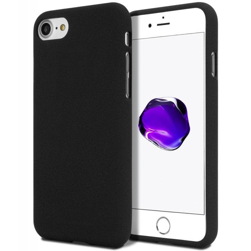 Mercury Soft Feeling Case for iPhone 78 - Black
