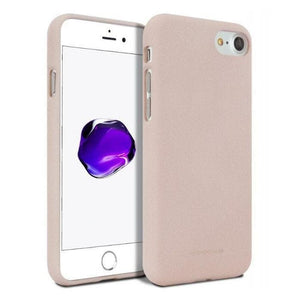 Mercury Soft Feeling Case for iPhone 78 - Pink Sand Apple