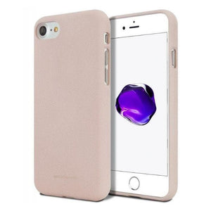 Mercury Soft Feeling Case for iPhone 78 - Pink Sand