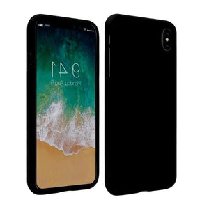 Mercury Soft Feeling Case for iPhone XS Max - Black Apple