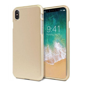 Mercury iJelly Metal Case for iPhone XR - Gold