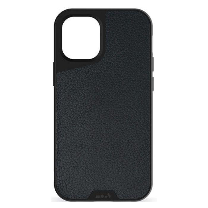 Mous Limitless 3.0 Leather Case for iPhone 12 Pro Max - Black