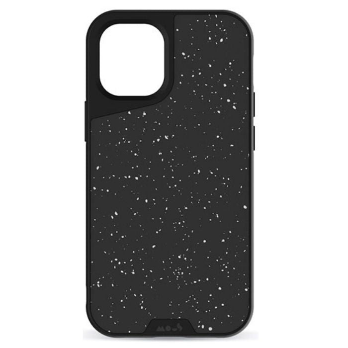 Mous Limitless 3.0 Speckled Case for iPhone 12/ 12 Pro - Black
