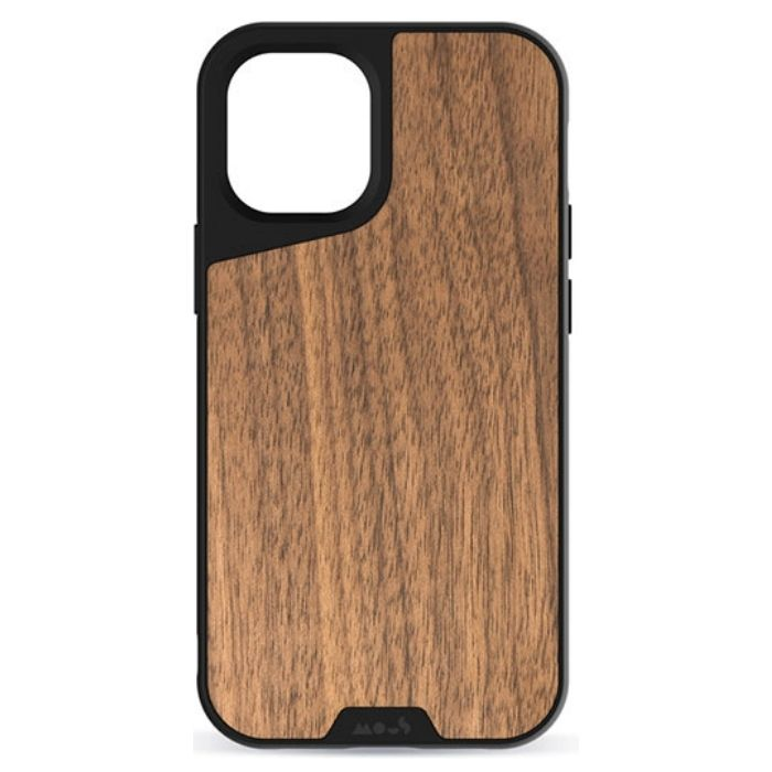 Mous Limitless 3.0 Case for iPhone 12/12 Pro - Walnut