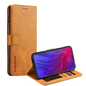 Wallet Case for Oppo Reno2 Z - Tan