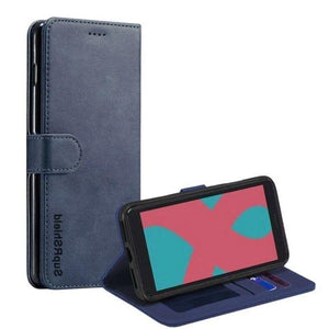 Wallet case for Optus X Sight-Navy