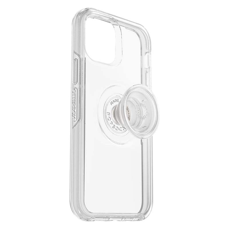 OtterBox Otter+Pop Symmetry Case for iphone 1212Pro-clear popsocket