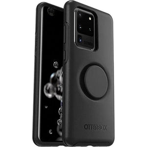 Otterbox Otter + Pop Symmetry Case for Galaxy S20 Ultra (6.9) - Black Protector