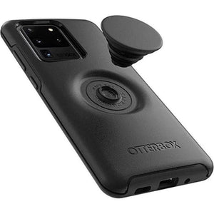 Otterbox Otter + Pop Symmetry Case for Galaxy S20 Ultra (6.9) - Black side