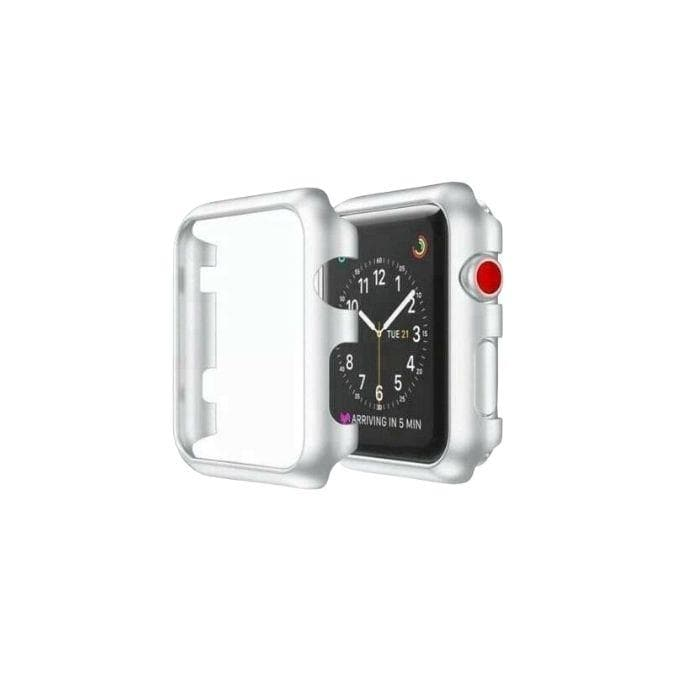 Protective Bumper case for Apple Watch 38mm-Silver