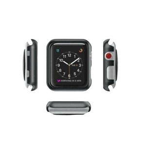 Protective Bumper Case for Apple Watch 42mm - Black protector