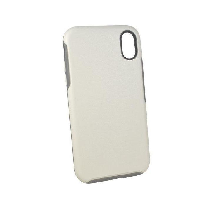 Rhythm Shockproof Case for iPhone XR - White
