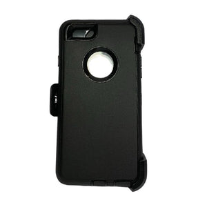 Shelter Shockproof Case for iPhone 78SE 2020 - Black Apple