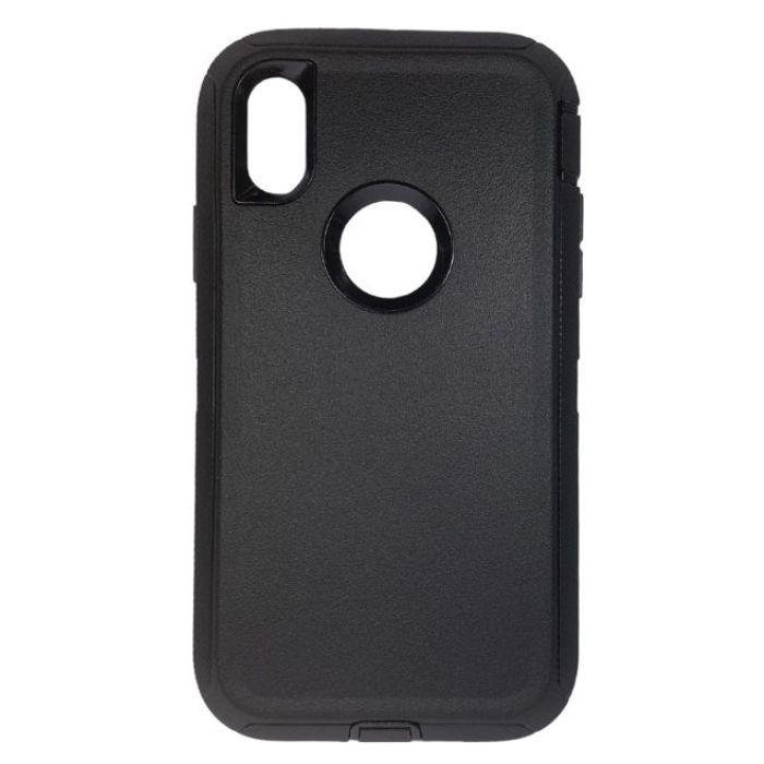 Shelter Shockproof Case for iPhone XS Max - Black cover