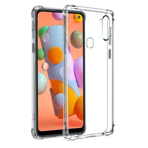Soft Case for Galaxy A21S-Clear Samsung