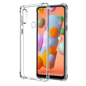 Soft Case for Galaxy A21S-Clear